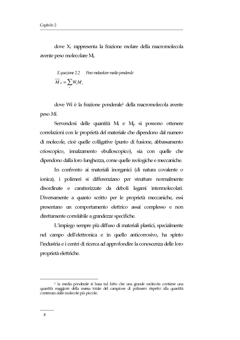 Anteprima della tesi: Resistività elettrica su polimeri isolanti, confronto teorico e sperimentale tra metodi di misura, Pagina 3