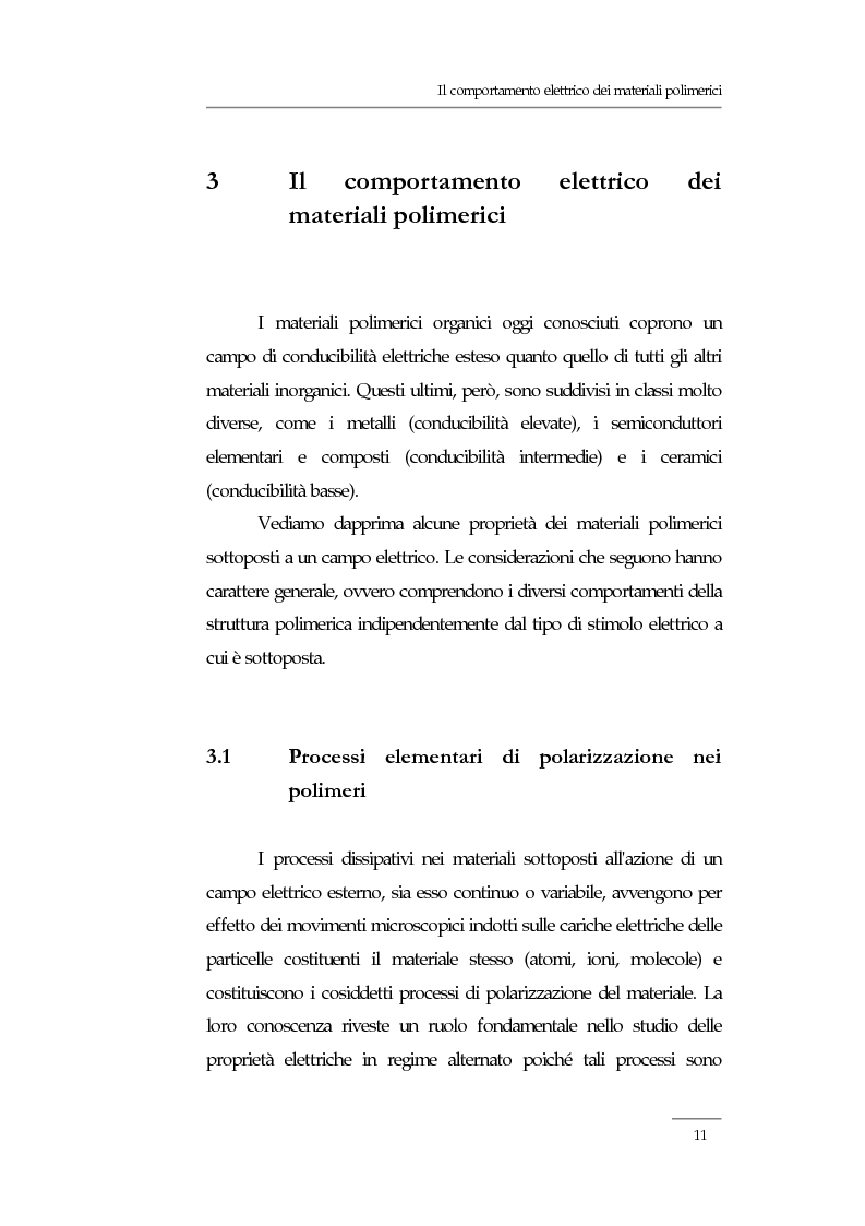 Anteprima della tesi: Resistività elettrica su polimeri isolanti, confronto teorico e sperimentale tra metodi di misura, Pagina 5