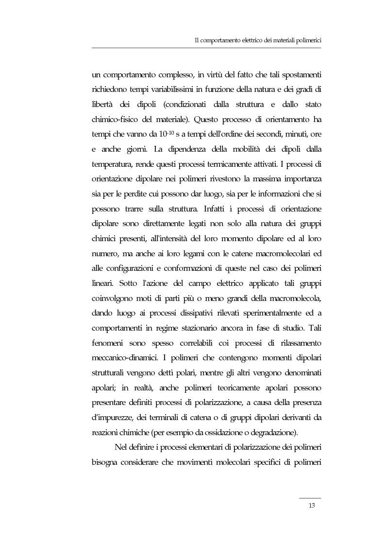 Anteprima della tesi: Resistività elettrica su polimeri isolanti, confronto teorico e sperimentale tra metodi di misura, Pagina 7