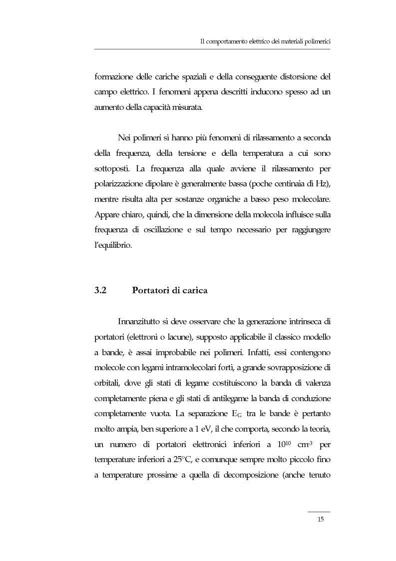 Anteprima della tesi: Resistività elettrica su polimeri isolanti, confronto teorico e sperimentale tra metodi di misura, Pagina 9