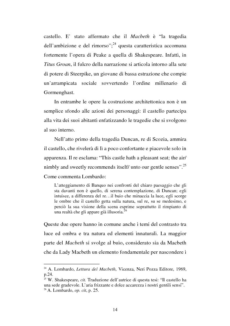 Anteprima della tesi: Miles of rambling stones. L'immaginario spaziale nella trilogia di Gormenghast, Pagina 13