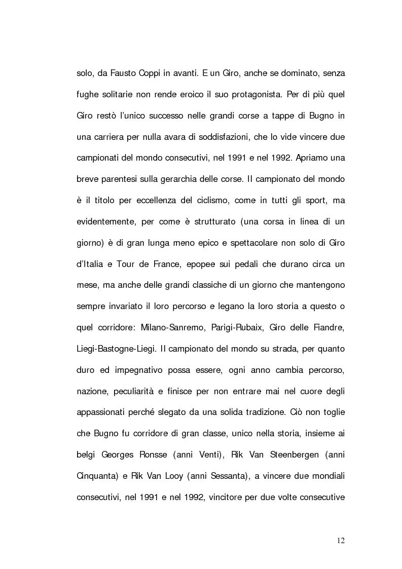 Anteprima della tesi: Marco Pantani: costruzione ed evoluzione del mito mediatico, Pagina 10