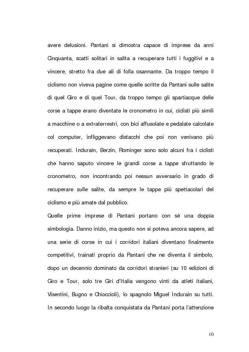Anteprima della tesi: Marco Pantani: costruzione ed evoluzione del mito mediatico, Pagina 8