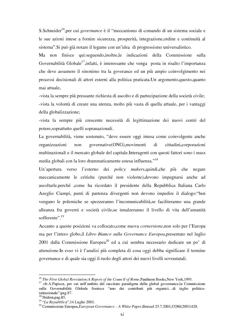 Anteprima della tesi: Le tendenze del regionalismo e dell'interregionalismo, Pagina 11