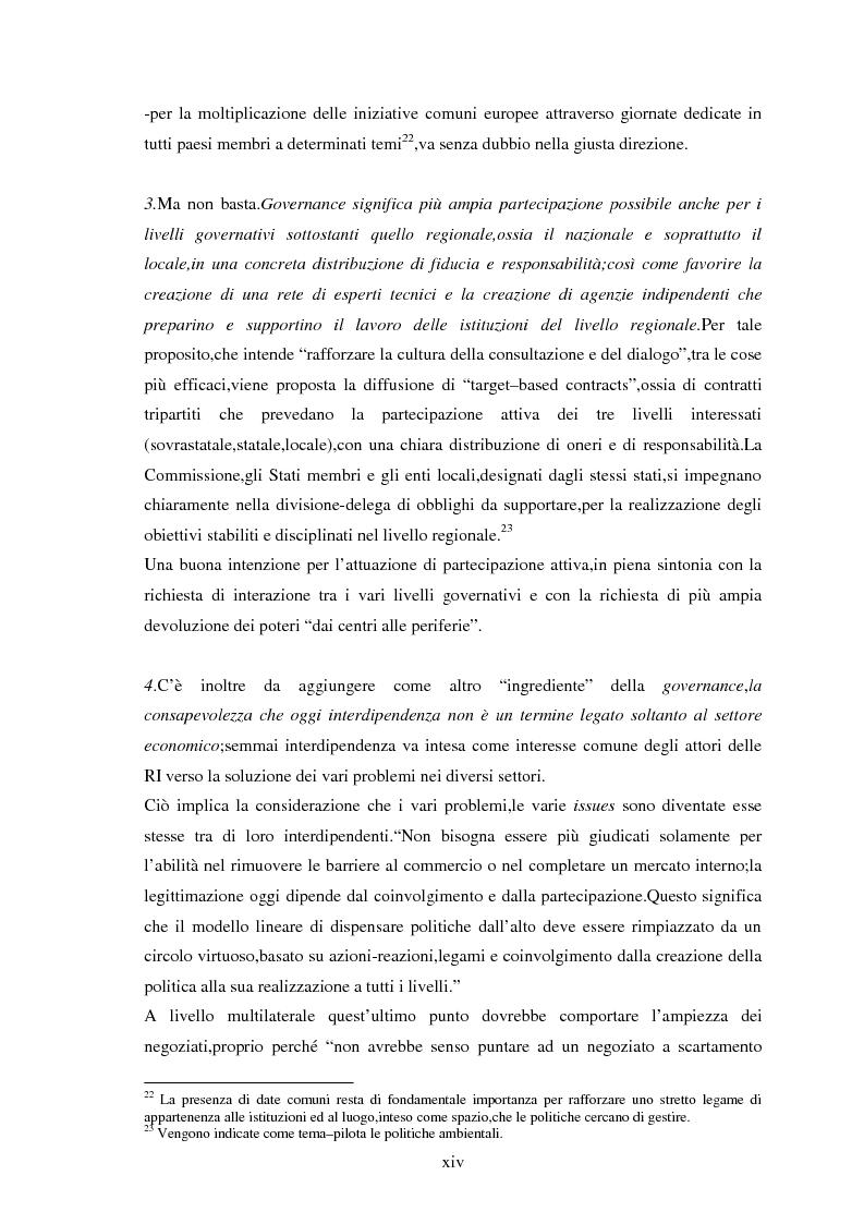 Anteprima della tesi: Le tendenze del regionalismo e dell'interregionalismo, Pagina 14
