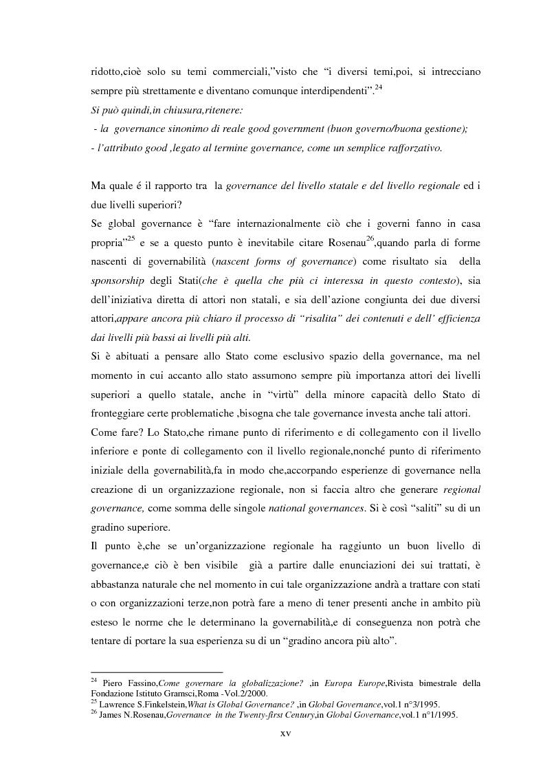 Anteprima della tesi: Le tendenze del regionalismo e dell'interregionalismo, Pagina 15