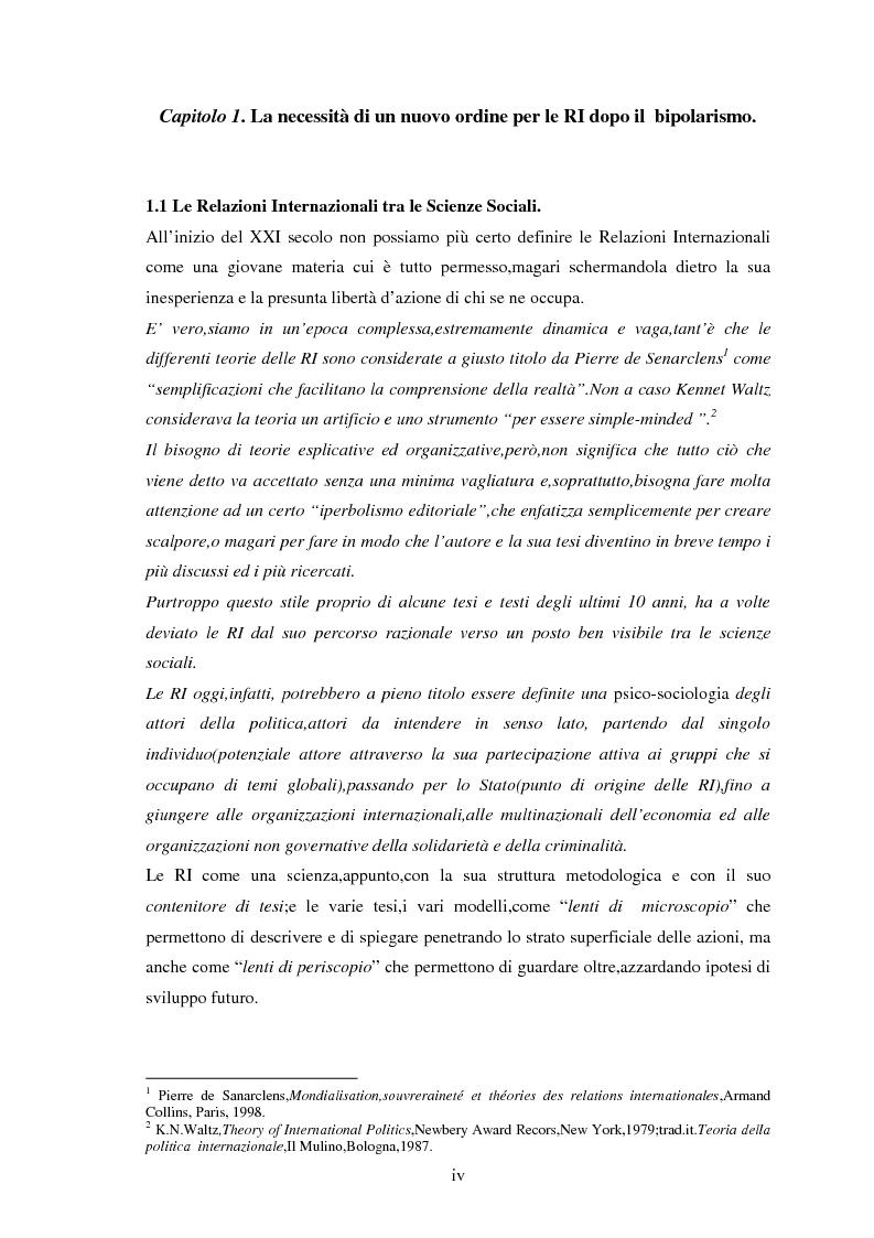 Anteprima della tesi: Le tendenze del regionalismo e dell'interregionalismo, Pagina 4