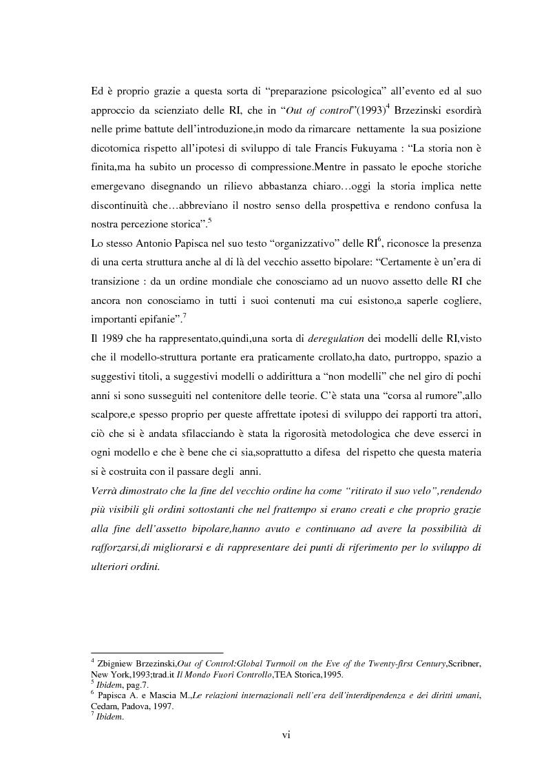 Anteprima della tesi: Le tendenze del regionalismo e dell'interregionalismo, Pagina 6
