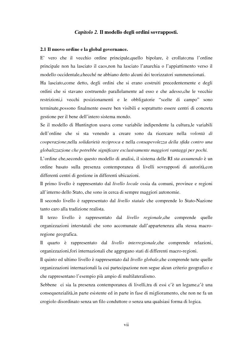 Anteprima della tesi: Le tendenze del regionalismo e dell'interregionalismo, Pagina 7