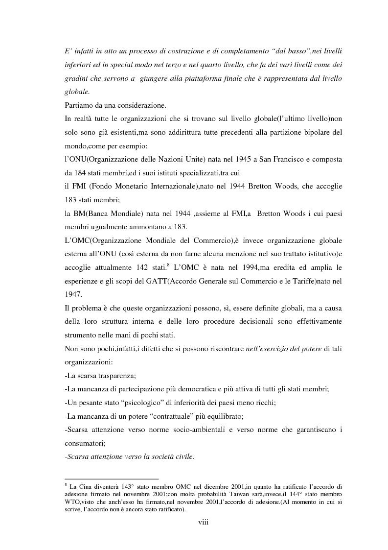 Anteprima della tesi: Le tendenze del regionalismo e dell'interregionalismo, Pagina 8