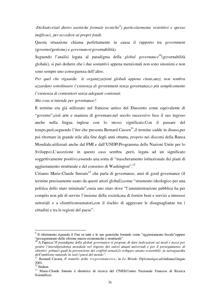 Anteprima della tesi: Le tendenze del regionalismo e dell'interregionalismo, Pagina 9