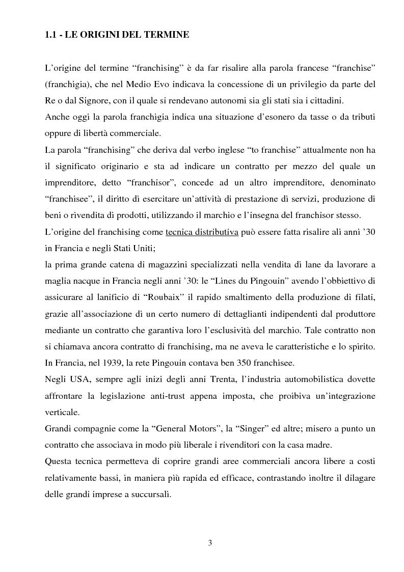 Anteprima della tesi: Il franchising nel turismo: il caso C.T.S (Centro Turistico Studentesco e Giovanile), Pagina 3