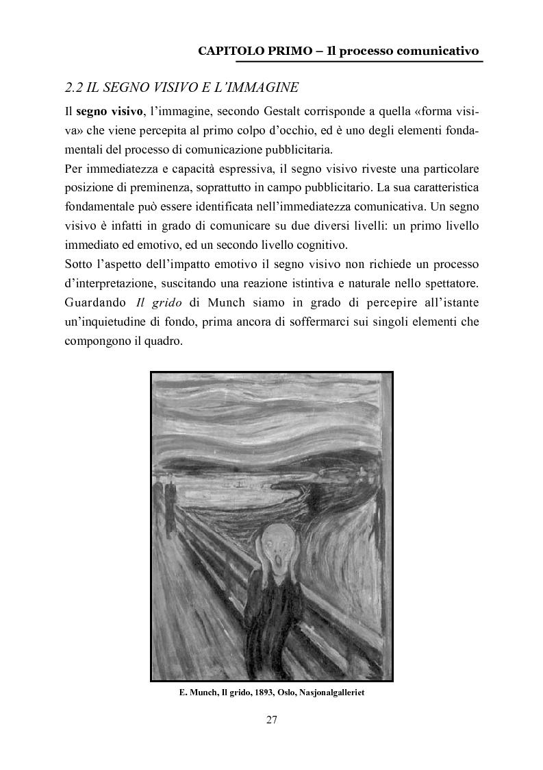 Anteprima della tesi: La comunicazione nelle affissioni, Pagina 14