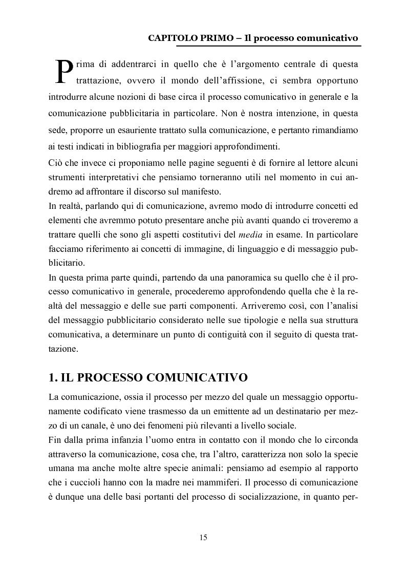 Anteprima della tesi: La comunicazione nelle affissioni, Pagina 2