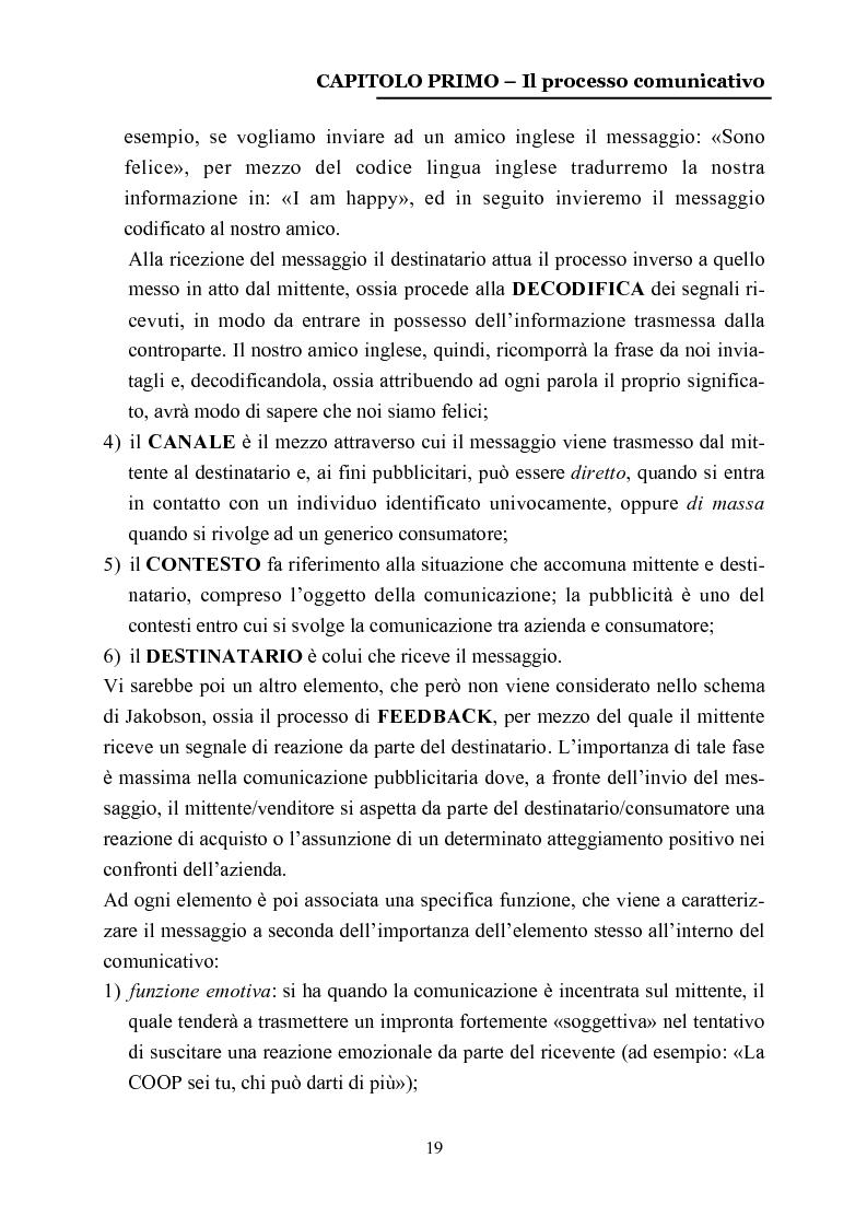Anteprima della tesi: La comunicazione nelle affissioni, Pagina 6