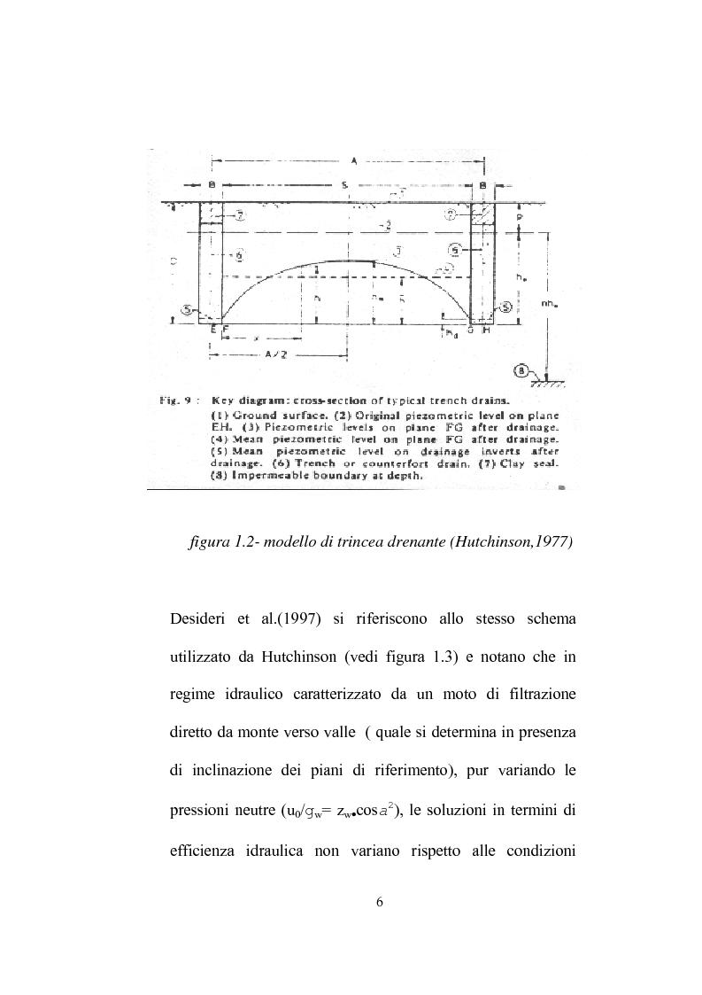 Anteprima della tesi: Modellazione dell'abbassamento della falda in un pendio instabile in argilla a struttura complessa, Pagina 9