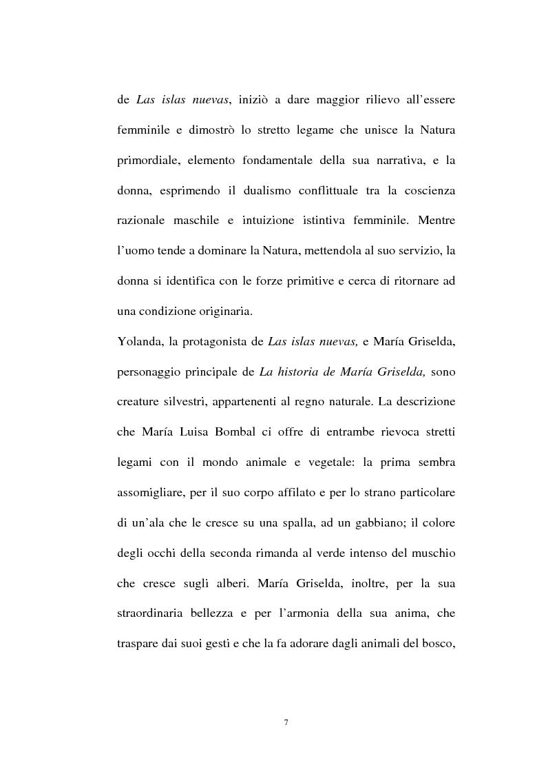 Anteprima della tesi: La personalità e l'opera di Maria Luisa Bombal, Pagina 7