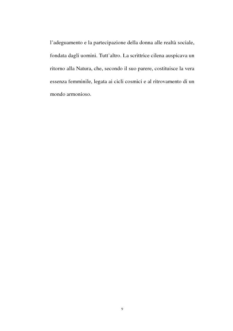 Anteprima della tesi: La personalità e l'opera di Maria Luisa Bombal, Pagina 9