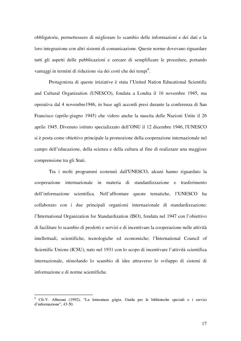 Anteprima della tesi: La letteratura ''grigia'' di fonte amministrativa, Pagina 14