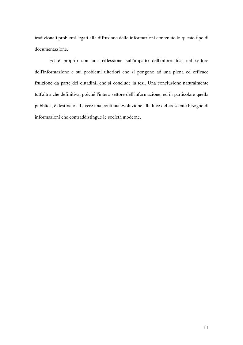Anteprima della tesi: La letteratura ''grigia'' di fonte amministrativa, Pagina 8