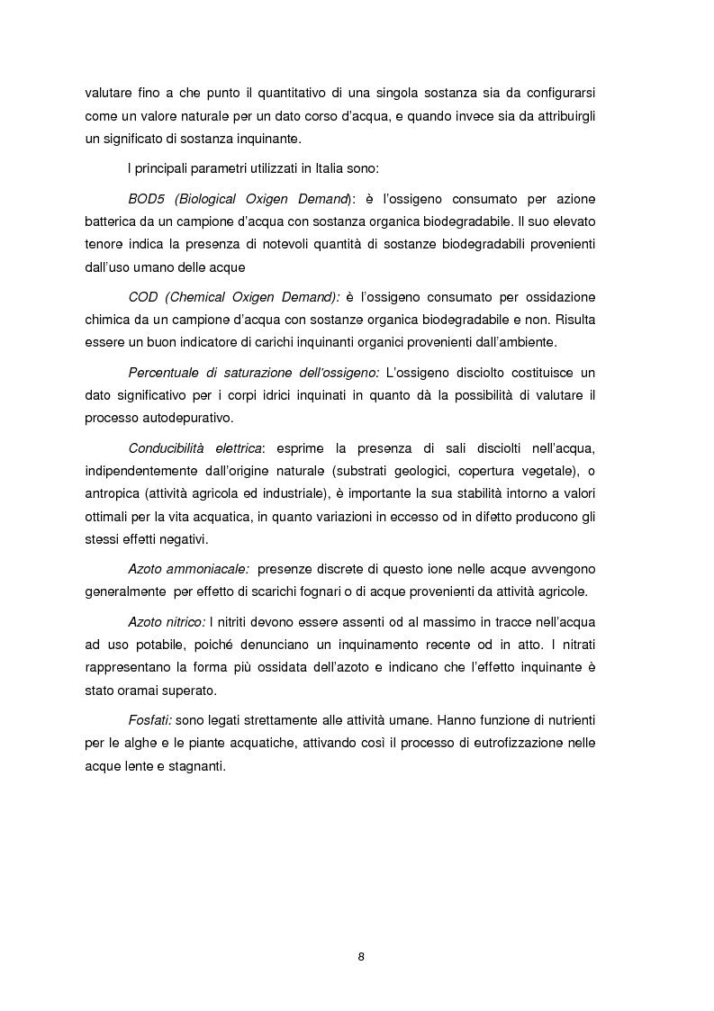 Anteprima della tesi: Applicazione dell'Indice di Funzionalità Fluviale nel fiume Fella e nel torrente Bartolo (Friuli Venezia Giulia), Pagina 7