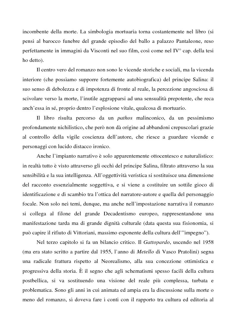 Anteprima della tesi: Il ''caso'' Tomasi di Lampedusa, Pagina 3