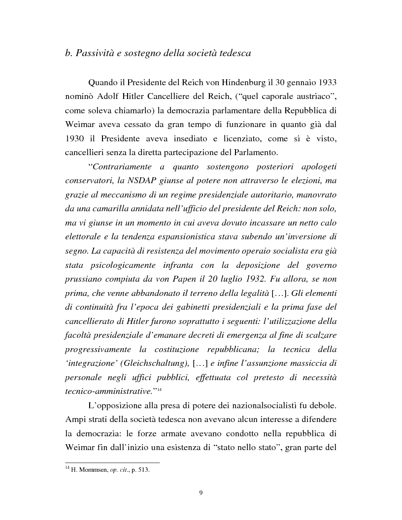 Anteprima della tesi: Joseph Goebbels: modelli e forme di propaganda nel Terzo Reich, Pagina 10