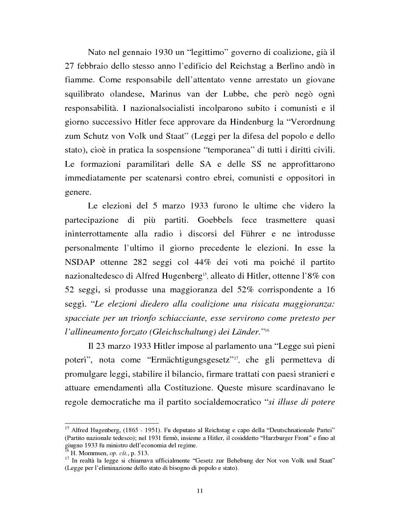 Anteprima della tesi: Joseph Goebbels: modelli e forme di propaganda nel Terzo Reich, Pagina 12