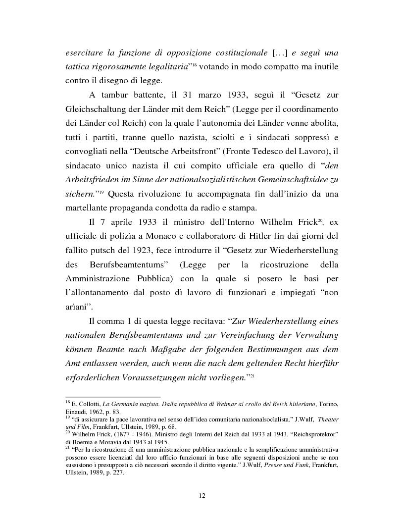 Anteprima della tesi: Joseph Goebbels: modelli e forme di propaganda nel Terzo Reich, Pagina 13