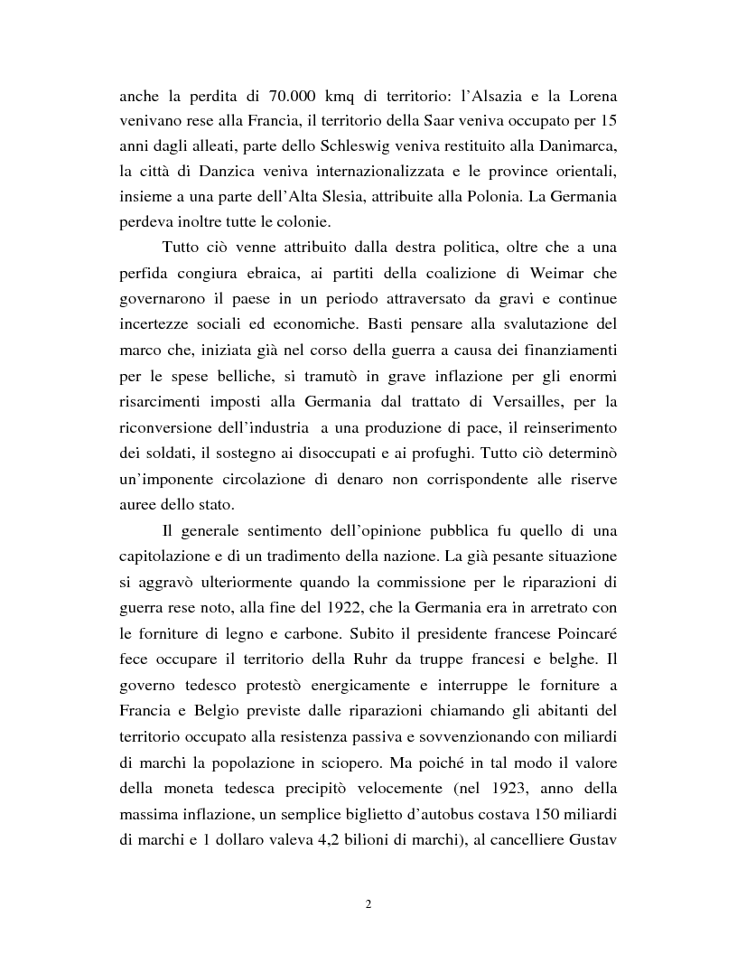 Anteprima della tesi: Joseph Goebbels: modelli e forme di propaganda nel Terzo Reich, Pagina 3