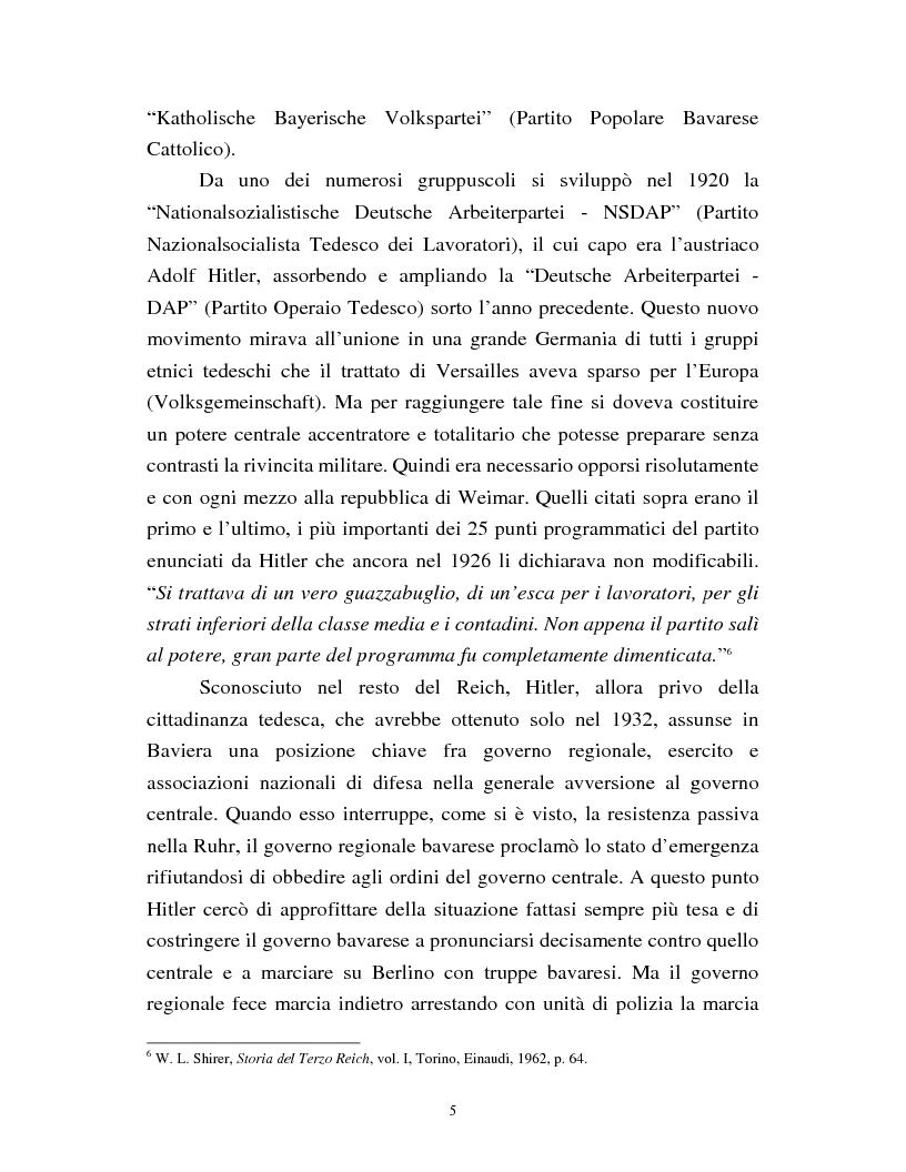 Anteprima della tesi: Joseph Goebbels: modelli e forme di propaganda nel Terzo Reich, Pagina 6