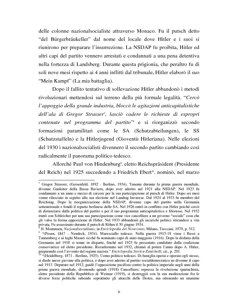 Anteprima della tesi: Joseph Goebbels: modelli e forme di propaganda nel Terzo Reich, Pagina 7