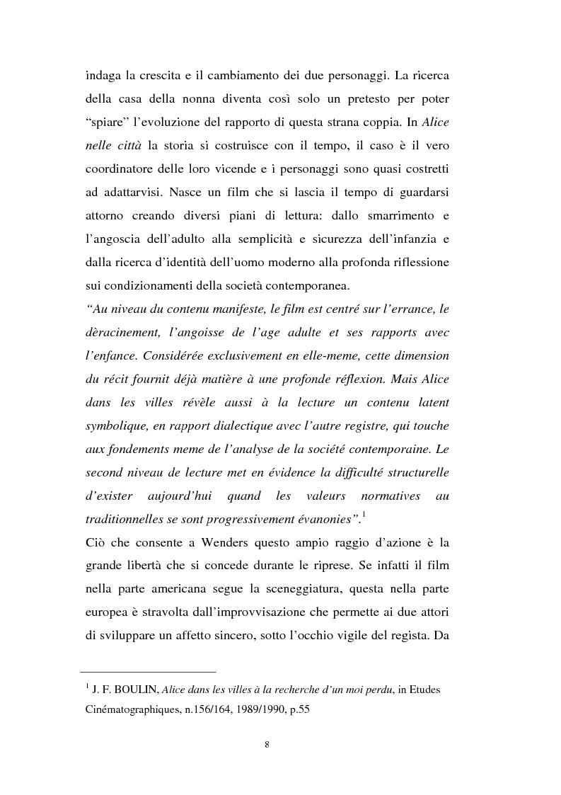 Anteprima della tesi: Alice nelle città, Pagina 2