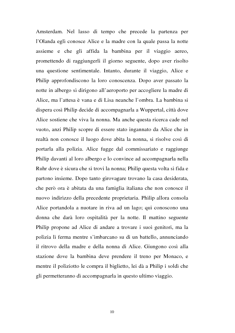Anteprima della tesi: Alice nelle città, Pagina 4