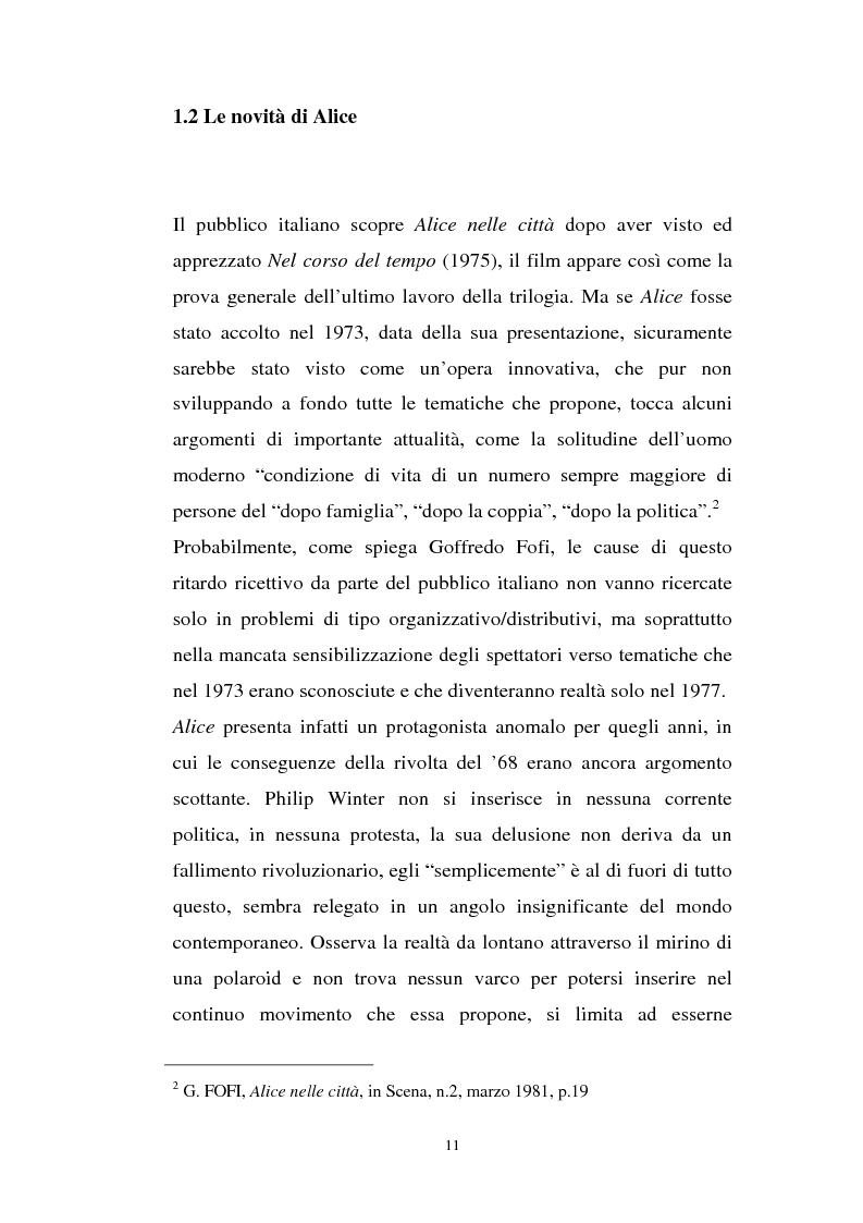 Anteprima della tesi: Alice nelle città, Pagina 5