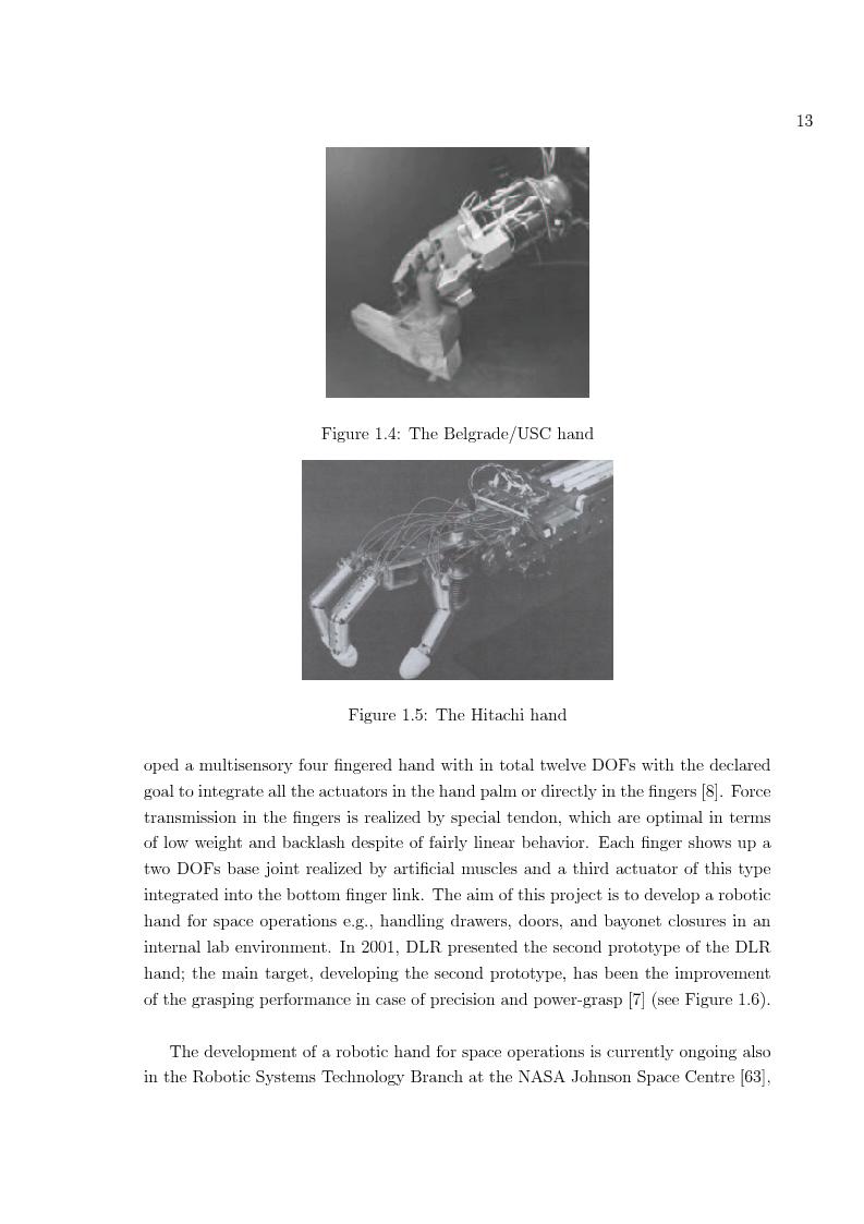 Anteprima della tesi: Hand prosthesis design: Enhancing grasping capabilities through mechanical features, Pagina 13