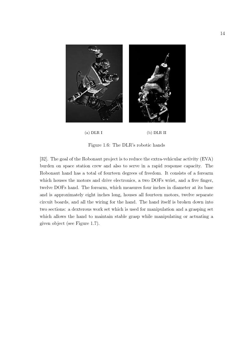 Anteprima della tesi: Hand prosthesis design: Enhancing grasping capabilities through mechanical features, Pagina 14