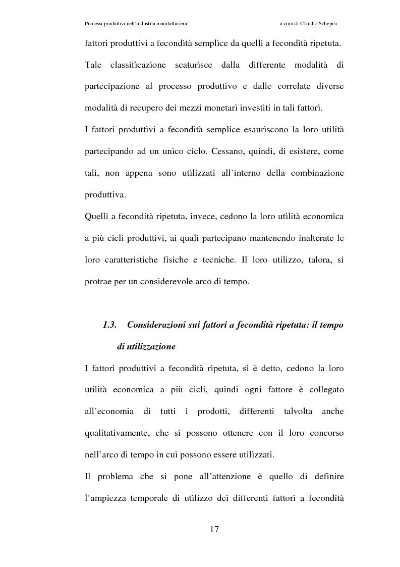 Anteprima della tesi: Processi produttivi nell'industria manifatturiera. Caso aziendale sistemi frenanti Bosch S.p.a., Pagina 10