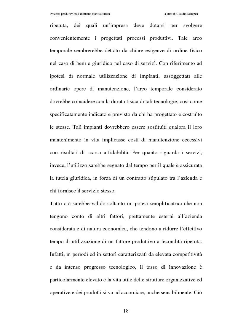 Anteprima della tesi: Processi produttivi nell'industria manifatturiera. Caso aziendale sistemi frenanti Bosch S.p.a., Pagina 11