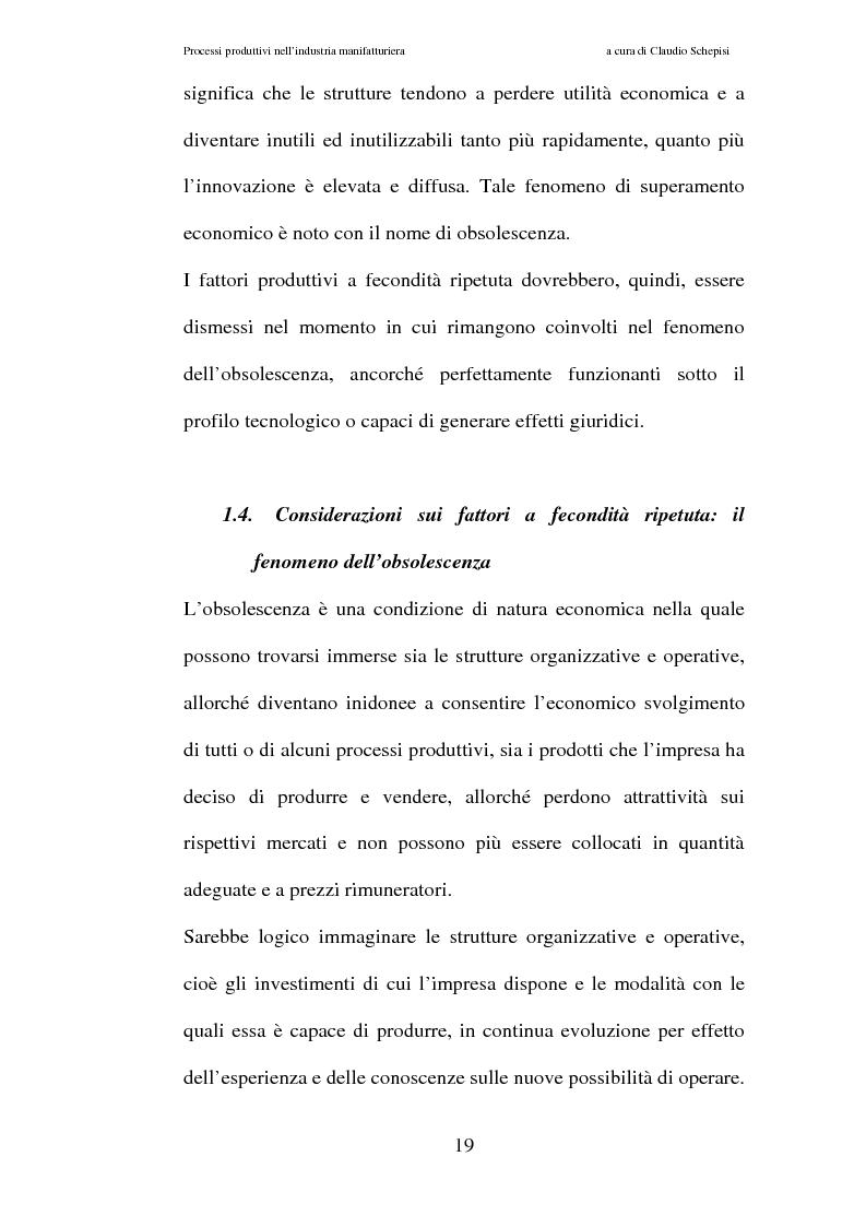 Anteprima della tesi: Processi produttivi nell'industria manifatturiera. Caso aziendale sistemi frenanti Bosch S.p.a., Pagina 12