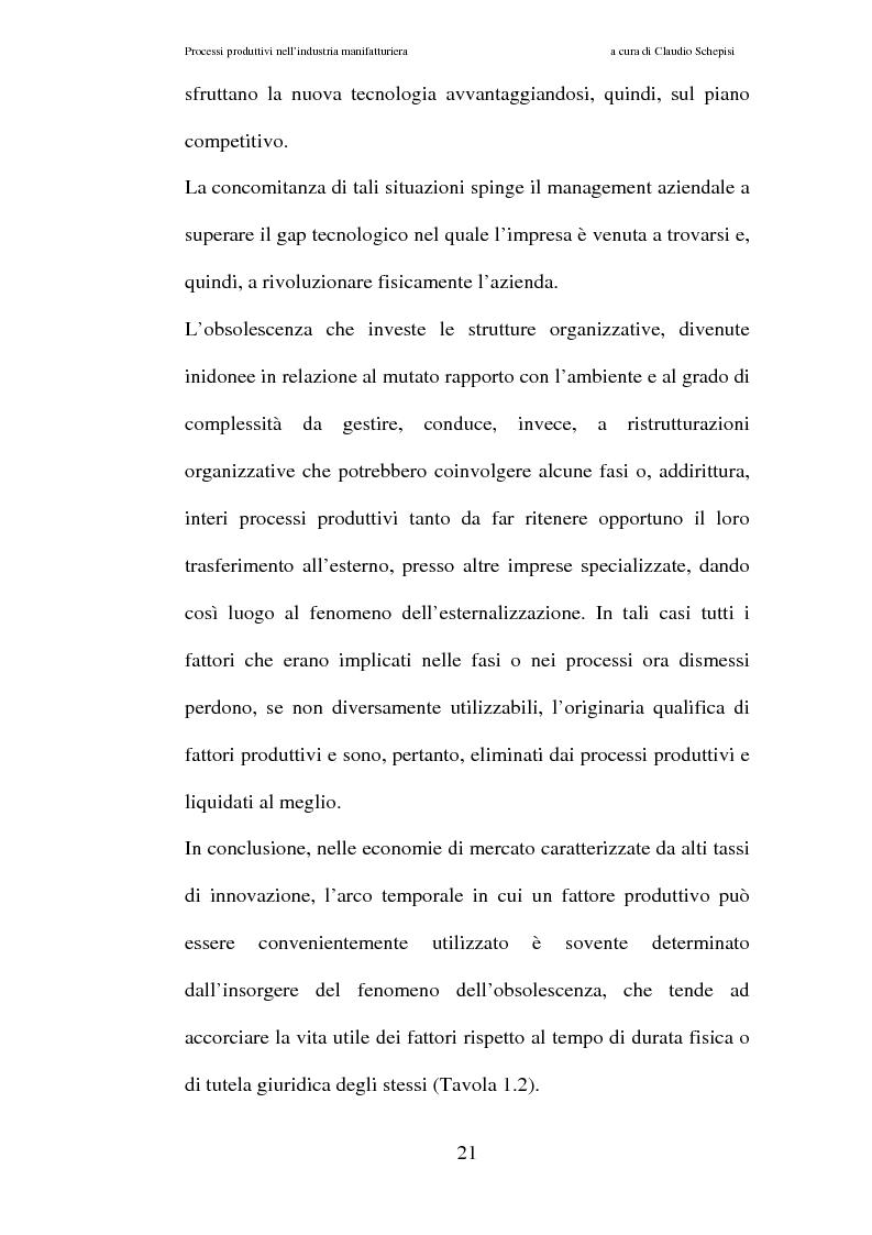 Anteprima della tesi: Processi produttivi nell'industria manifatturiera. Caso aziendale sistemi frenanti Bosch S.p.a., Pagina 14