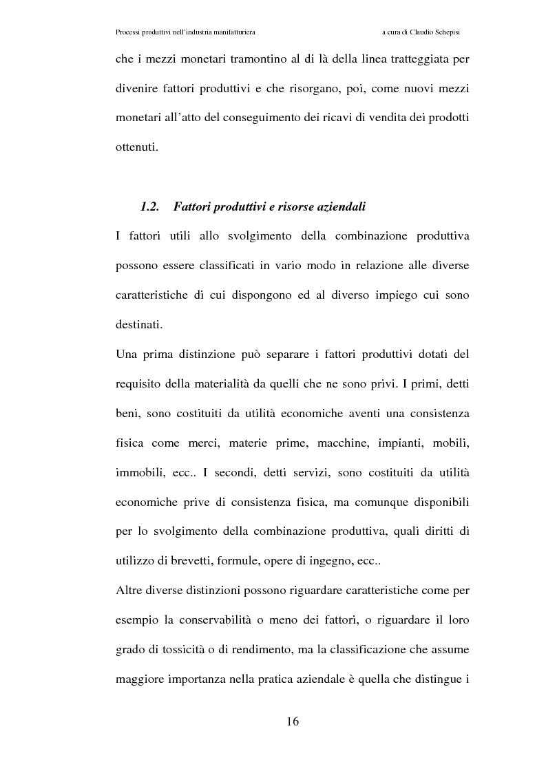Anteprima della tesi: Processi produttivi nell'industria manifatturiera. Caso aziendale sistemi frenanti Bosch S.p.a., Pagina 9
