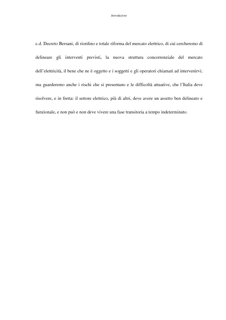 Anteprima della tesi: La liberalizzazione del settore elettrico, Pagina 4