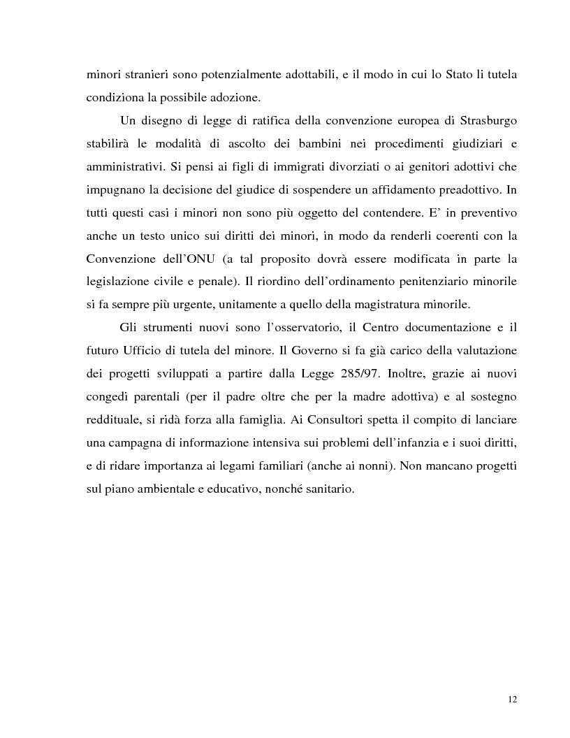 Anteprima della tesi: Adozione internazionale: Italia e nuova Zelanda a confronto, Pagina 10