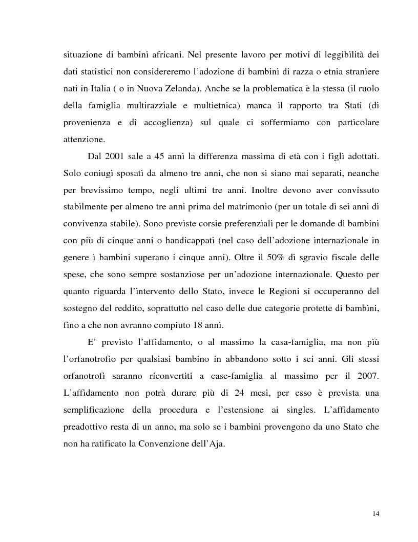 Anteprima della tesi: Adozione internazionale: Italia e nuova Zelanda a confronto, Pagina 12