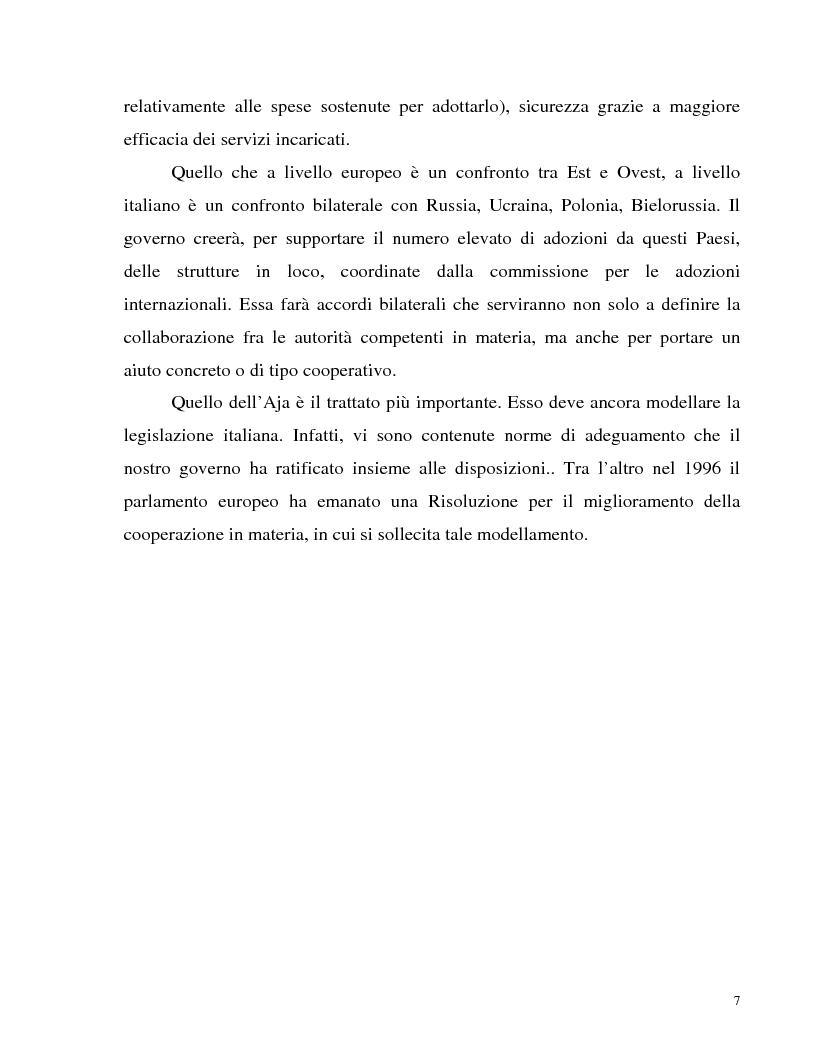 Anteprima della tesi: Adozione internazionale: Italia e nuova Zelanda a confronto, Pagina 5