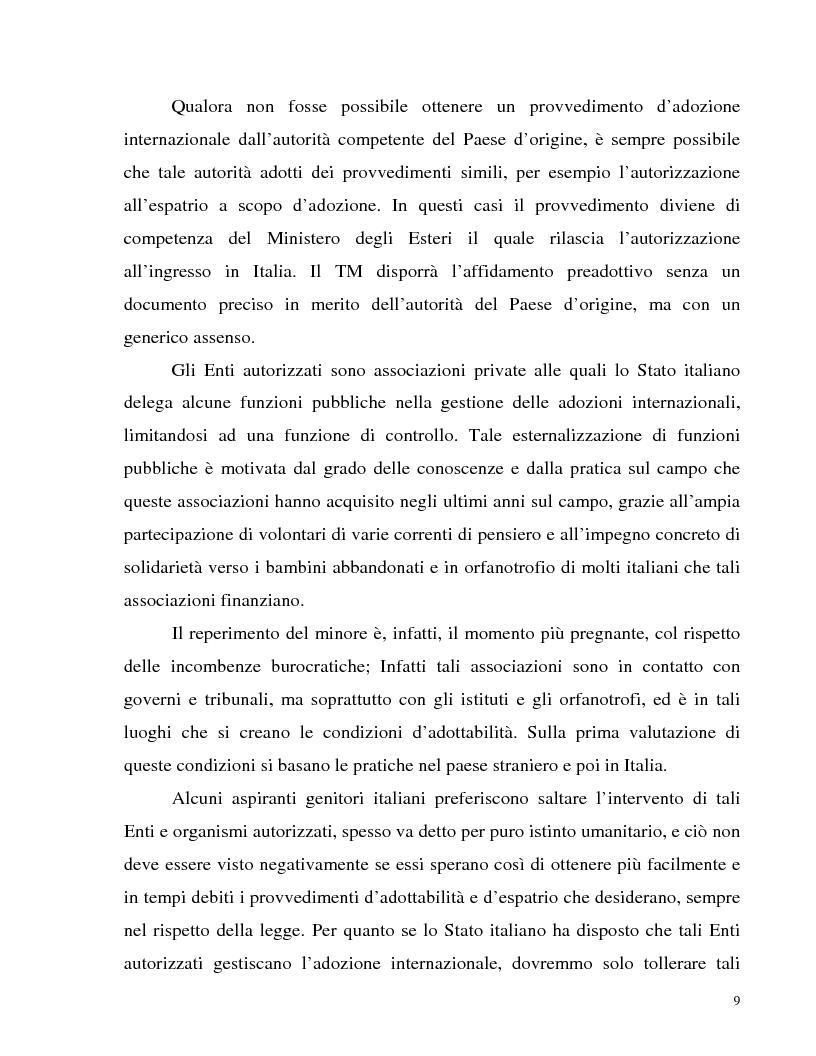 Anteprima della tesi: Adozione internazionale: Italia e nuova Zelanda a confronto, Pagina 7