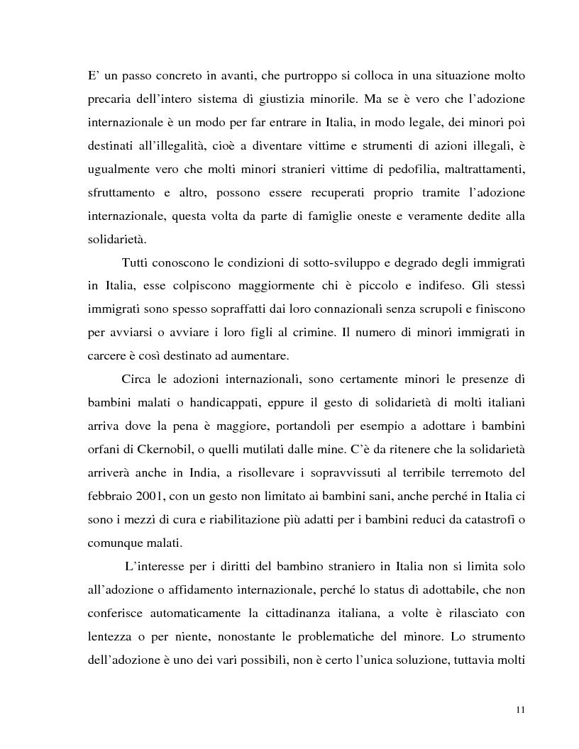 Anteprima della tesi: Adozione internazionale: Italia e nuova Zelanda a confronto, Pagina 9