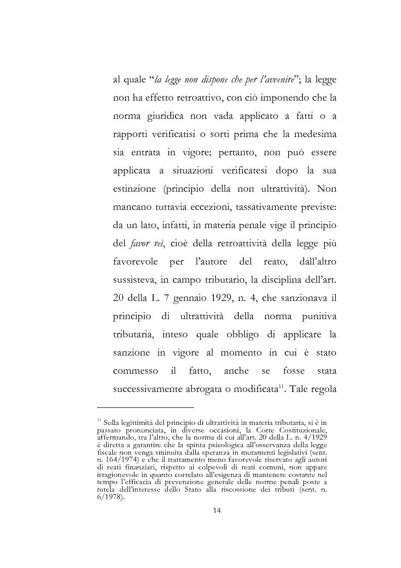 Anteprima della tesi: Sanzioni amministrative tributarie e principio di personalità, Pagina 12