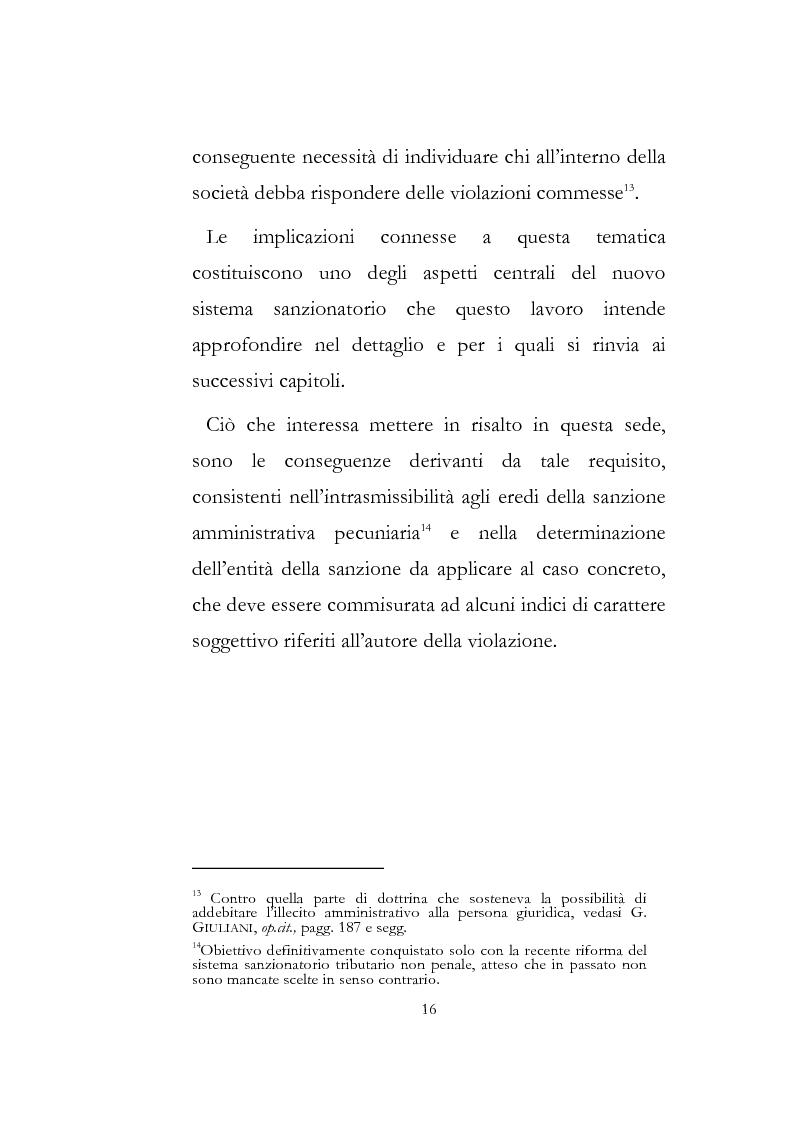 Anteprima della tesi: Sanzioni amministrative tributarie e principio di personalità, Pagina 14